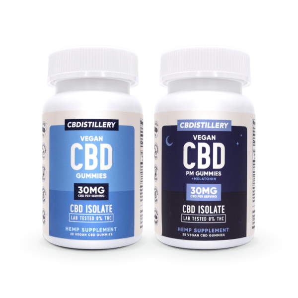 cbd-kafe,CBD Gummies & CBD Nighttime Gummies – 2 Pack,CBDistillery,CBD Isolate