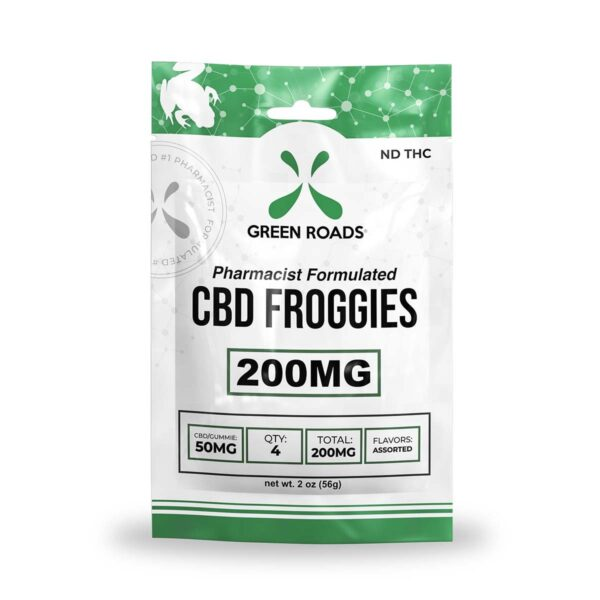 cbd-kafe,CBD Froggies – 200 mg,Green Roads,Broad Spectrum