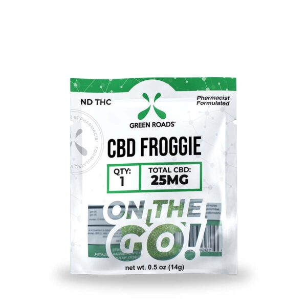 cbd-kafe,CBD Froggie – 25 mg,Green Roads,Broad Spectrum