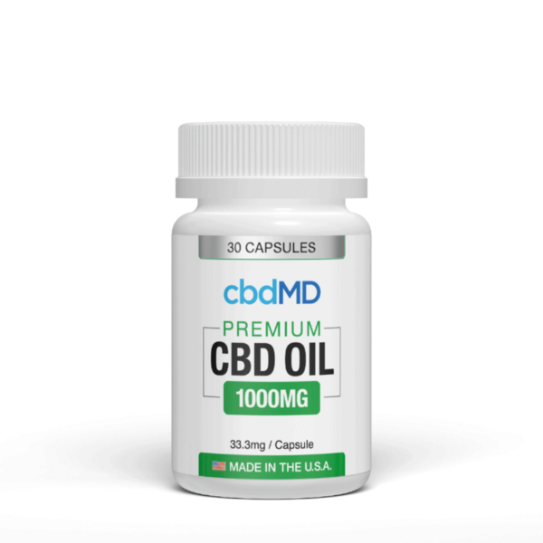 cbd-kafe,CBD Oil Capsules 1000mg,CBDFX,Full Spectrum