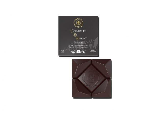 cbd-kafe,Difiori 70% Decadent Dark CBD Chocolate,Difiori CBD Chocolates,CBD Chocolate