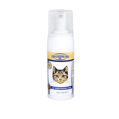 cbd-kafe,CBD Living Cat Moisturizing Foam 100mg,CBD Living,Broad Spectrum