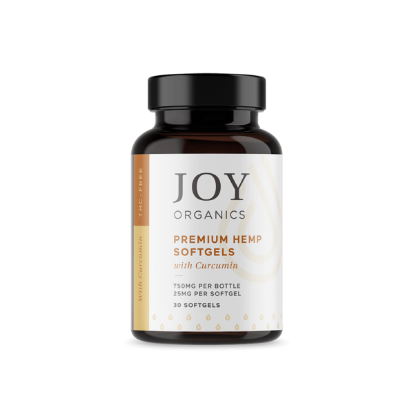 cbd-kafe,Joy Organics CBD Softgels with Curcumin,Joy Organics,Broad Spectrum