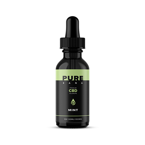 cbd-kafe,Mint CBD Oil 600mg,PureKana,Full Spectrum