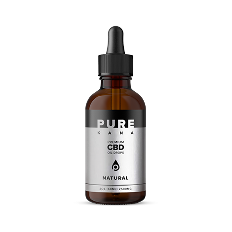 cbd-kafe,Natural CBD Oil 2500mg,PureKana,Full Spectrum