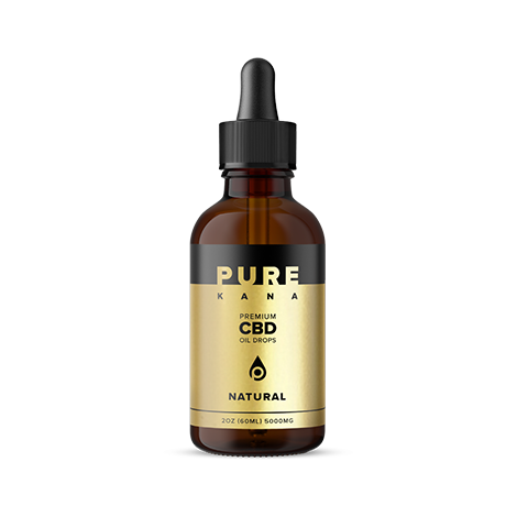 cbd-kafe,Natural CBD Oil 5000mg,PureKana,Full Spectrum