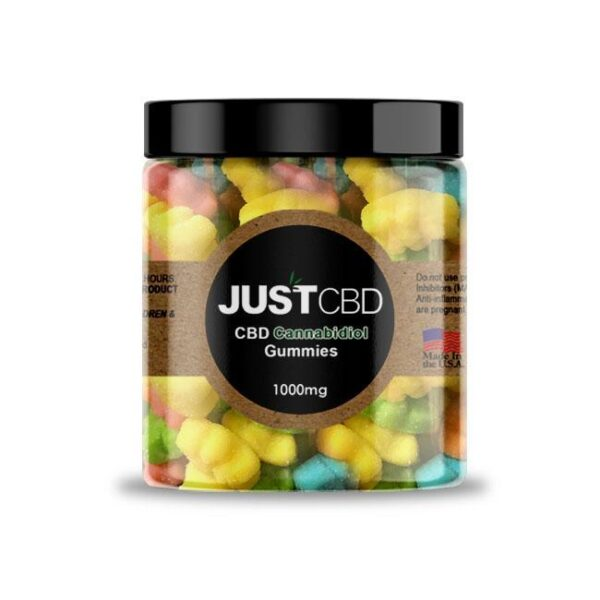 cbd-kafe,CBD Gummies 1000mg Jar,Just CBD,CBD Isolate