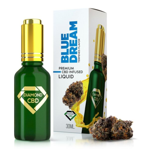 Blue Dream Terpenes Diamond CBD Oil
