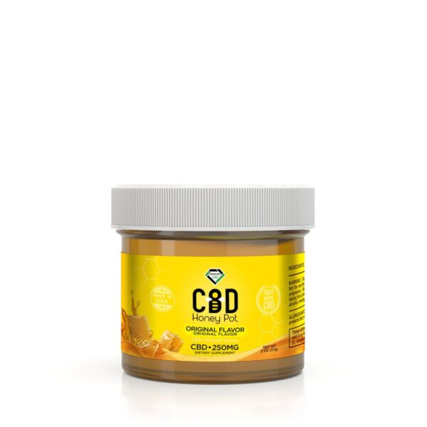 cbd-kafe,Diamond CBD Honey Pot - 250 mg,Diamond CBD,Full Spectrum