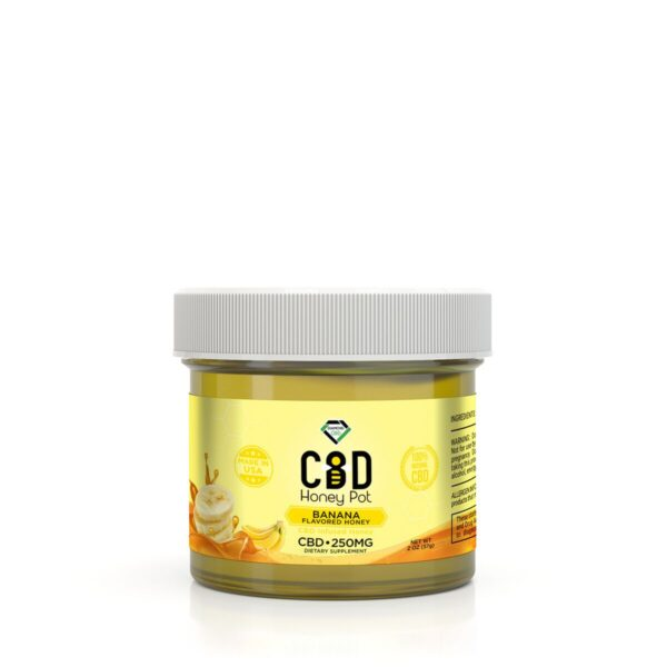 cbd-kafe,Diamond CBD Honey Pot - Banana  250 mg,Diamond CBD,Full Spectrum