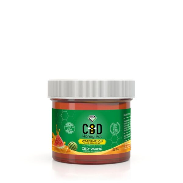 cbd-kafe,Diamond CBD Honey Pot - Watermelon 250 mg,Diamond CBD,Full Spectrum
