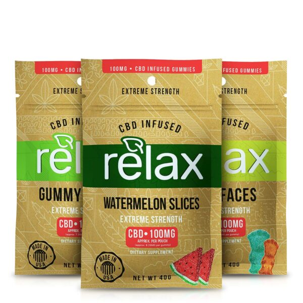CBD Relax Gummies Bundle