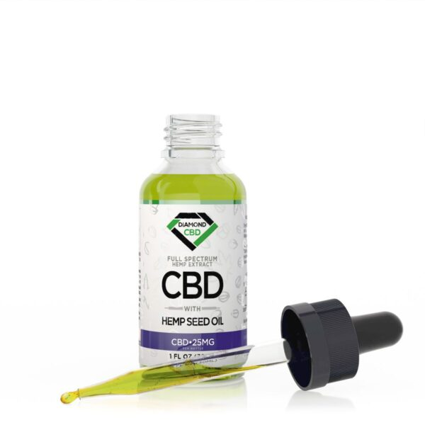 cbd-kafe,Diamond CBD Full Spectrum Hemp Seed Oil - 25mg (30ml),Diamond CBD,Full Spectrum