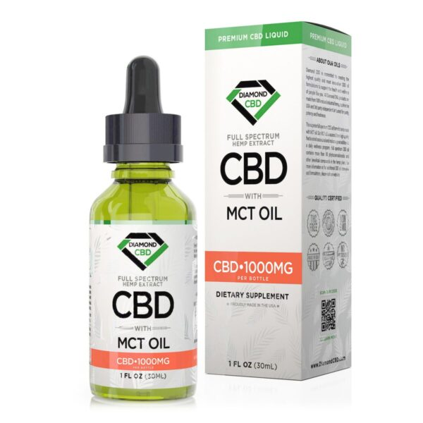 cbd-kafe,Diamond CBD Full Spectrum MCT Oil - 1000mg (30ml),Diamond CBD,Full Spectrum