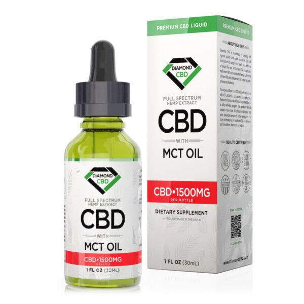 cbd-kafe,Diamond CBD Full Spectrum MCT Oil - 1500mg (30ml),Diamond CBD,Full Spectrum