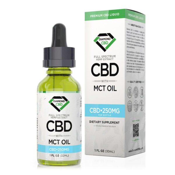 cbd-kafe,Diamond CBD Full Spectrum MCT Oil - 250mg (30ml),Diamond CBD,Full Spectrum