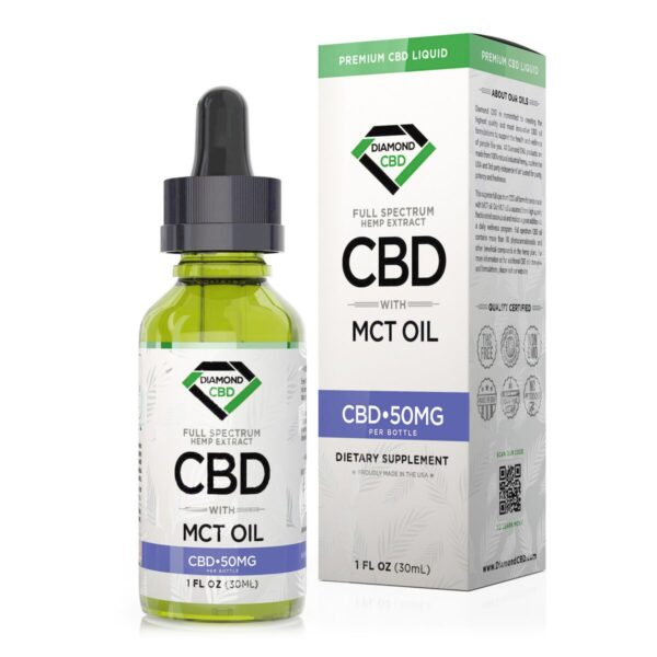 cbd-kafe,Diamond CBD Full Spectrum MCT Oil - 50mg (30ml),Diamond CBD,Full Spectrum