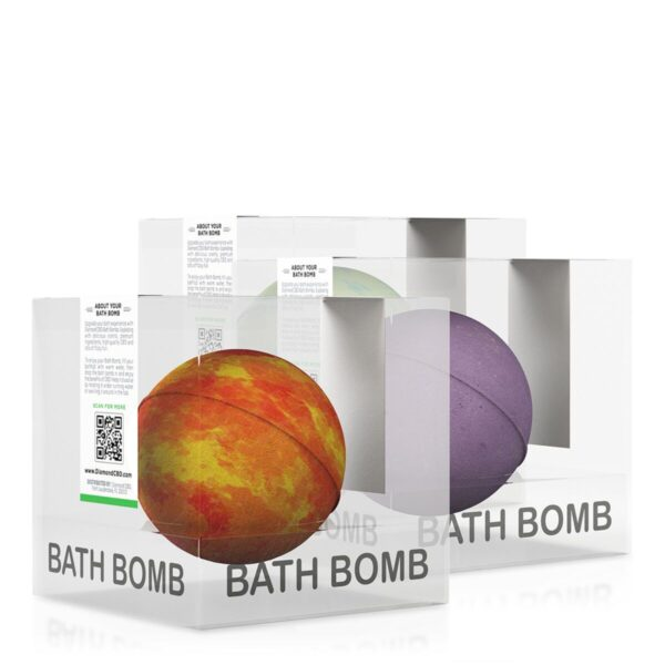cbd-kafe,Diamond CBD Bath Bomb Bundle C- 100mg,Diamond CBD,CBD Bath & Body
