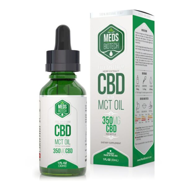 cbd-kafe,Meds Biotech Full Spectrum MCT Oil - 350mg (30ml),Meds Biotech,Full Spectrum