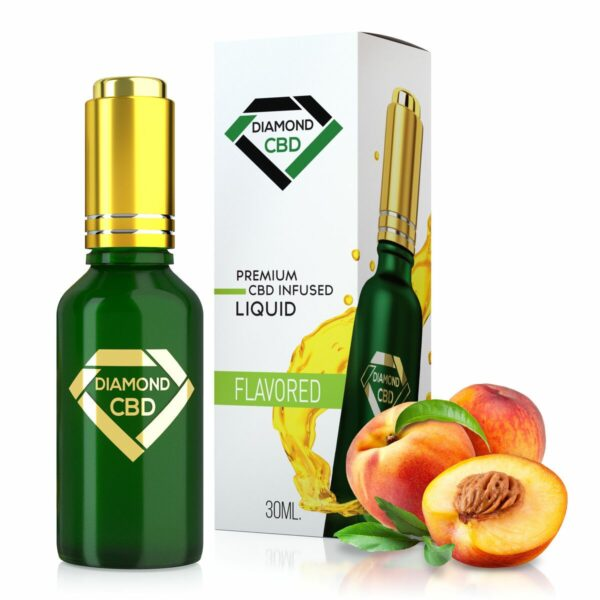 cbd-kafe,Peach Flavor Diamond CBD Oil,Diamond CBD,Full Spectrum