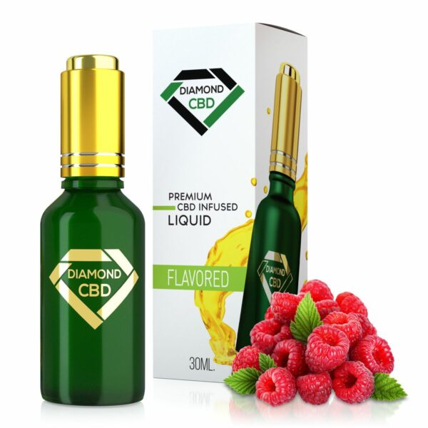 cbd-kafe,Sweet Raspberry Flavor Diamond CBD Oil,Diamond CBD,Full Spectrum