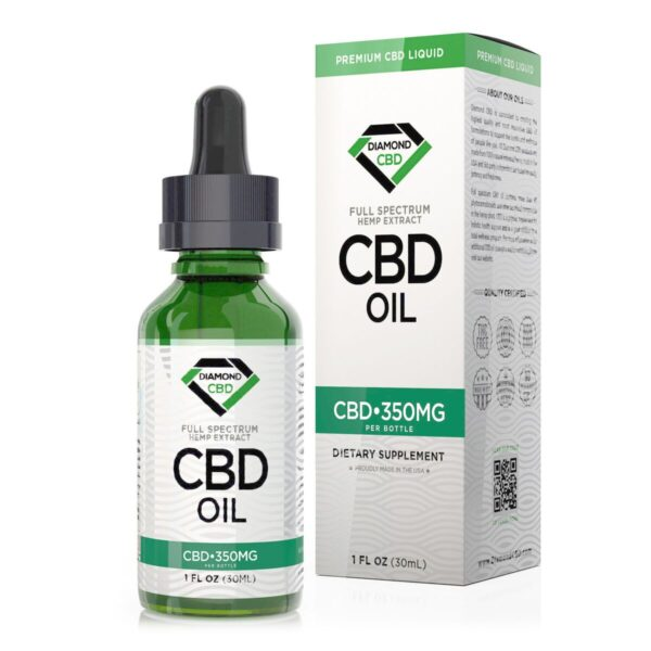 cbd-kafe,Unflavored Diamond CBD Oil - 350mg,Diamond CBD,Full Spectrum